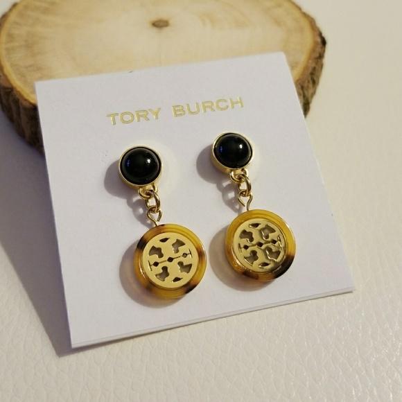 cf2afa07120750 Tory Burch Jewelry   Tortoise Drop Earrings   Poshmark